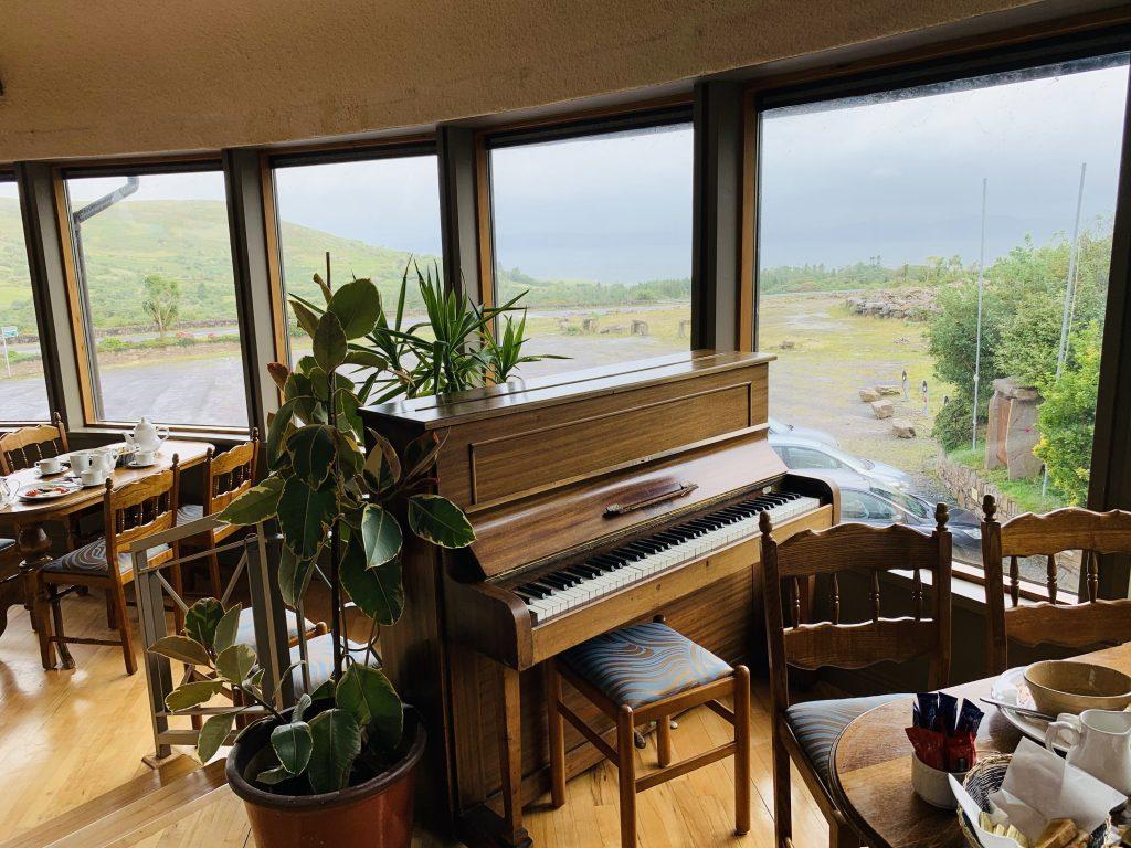 Play the Piano at Goldens Of Kells